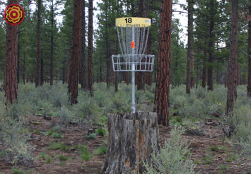 Hole 18 Stump Position