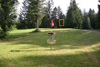 Hole 9 basket